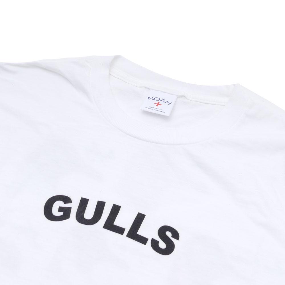 NOAH(노아) Gulls Tee (T셔츠) WHITE 200-006993-040+