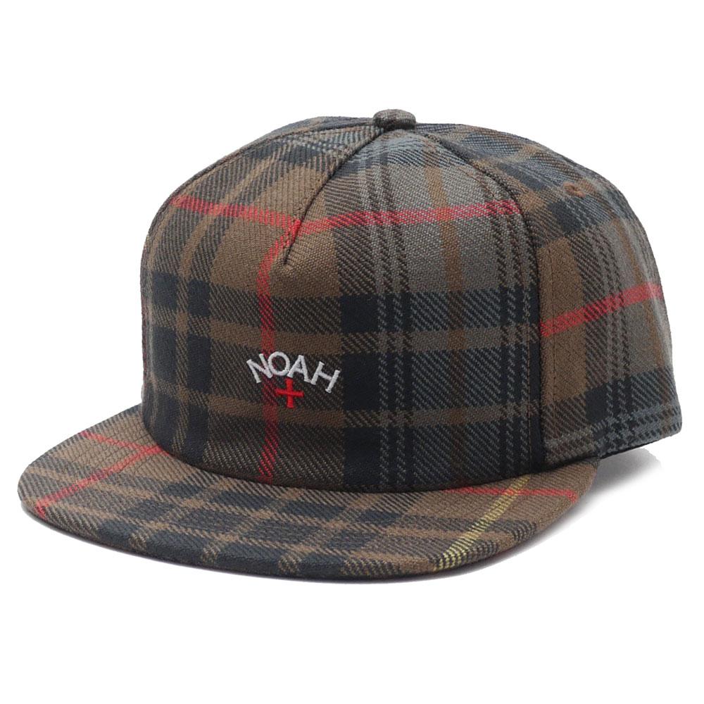 NOAH(ノア) Tartan Wool Hat (5パネルキャップ) KHAKI PLAID 265-000760-015+【新品】