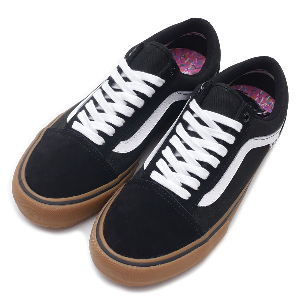 �9b�9k�z-'_卡车vans old skool pro老学校运动鞋鞋black gum white vn000zd4b9k