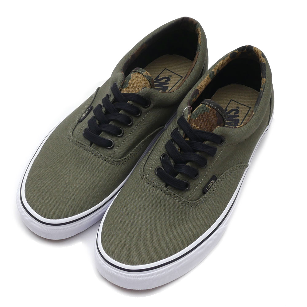 8059067e0b8933 VANS (vans) Era (era) (sneakers) (shoes) (Vintage Camo) Ivy Green Black  VN0A32R8M62 831 - 000290 - 265 +