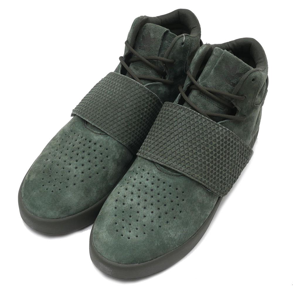 adidas(アディダス) TUBULAR INVADER STRAP (チューブラー)(スニーカー)(シューズ) NGTCAR/NGTCAR/NGTCAR BB1171 291-002158-285+【新品】