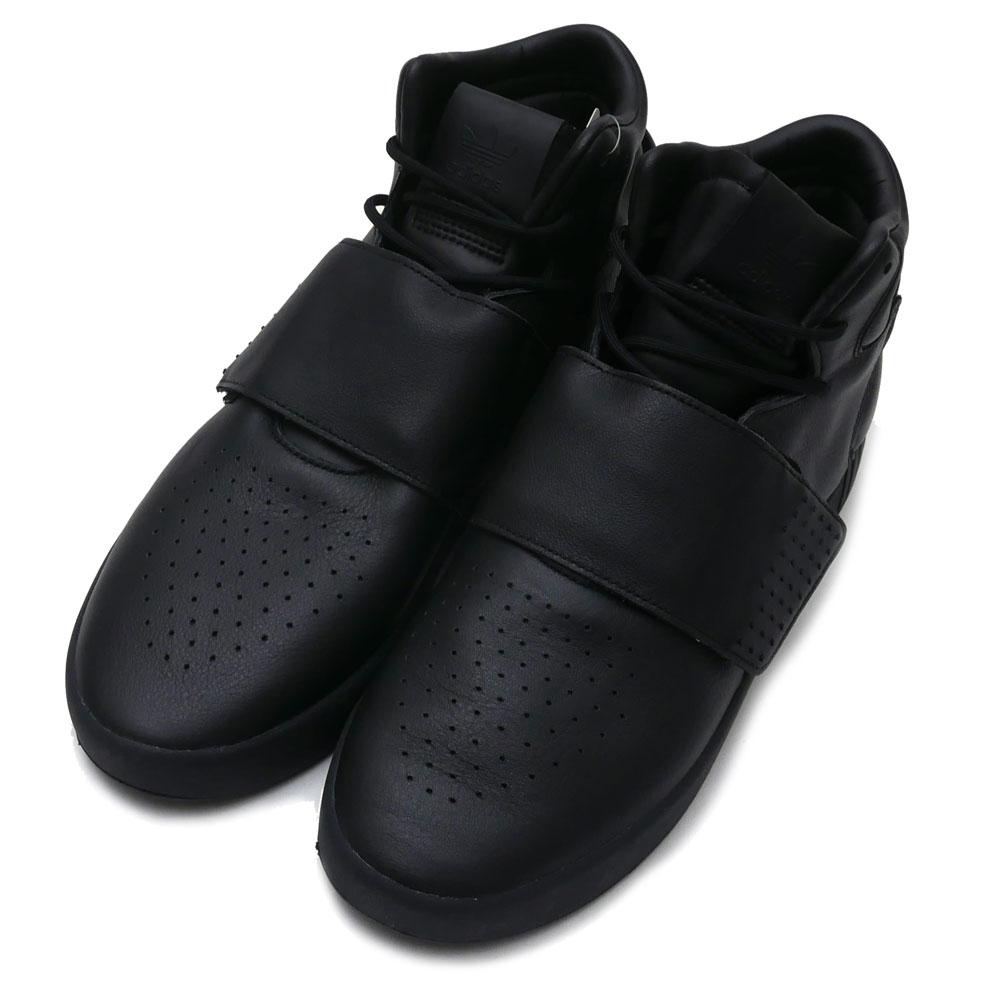 adidas(アディダス) TUBULAR INVADER STRAP (チューブラー)(スニーカー)(シューズ) CBLACK/CBLACK/UTIBLK BW0871 291-002164-281+【新品】