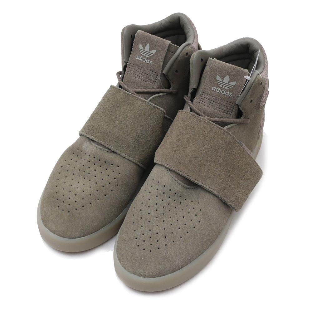 adidas(アディダス) TUBULAR INVADER STRAP (チューブラー)(スニーカー)(シューズ) TRACAR/TRACAR/SESAME BB8391 291-002179-276+【新品】