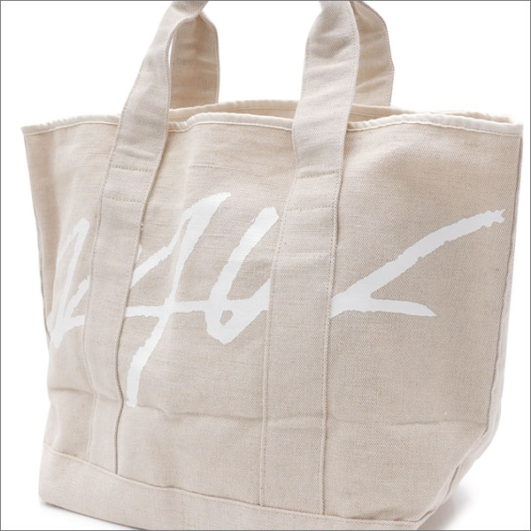 WTW(ダブルティー) COASTLINE LOGO TOTE BAG (トートバッグ) NATURAL 277-002368-010x【新品】