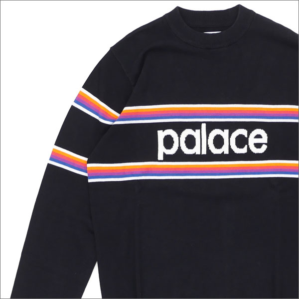Palace Skateboards(宫殿滑板)Multi Stripe Knit(编织物)BLACK 420-000016-031+