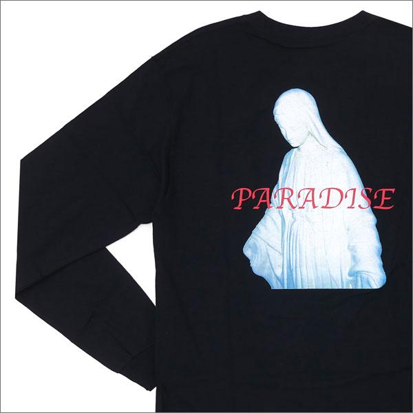 PARADIS3/PARADISE(パラダイス) Virgin paradise Long Sleeve Tee (長袖Tシャツ) BLACK 420-000024-041x【新品】