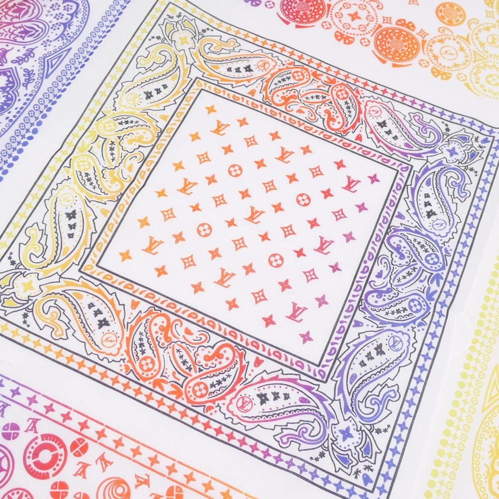 LOUIS VUITTON(루이비통) x Fragment Design(fragment 디자인) BANDANA TEE (T셔츠) WHITE 200-007361-030+