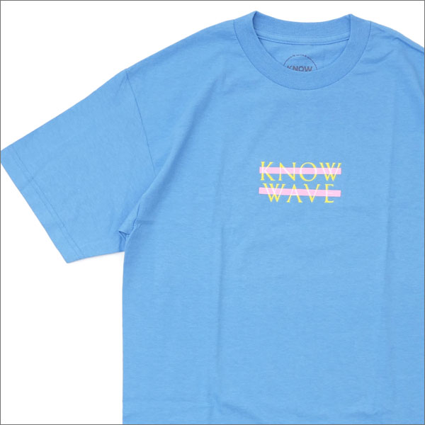 Know Wave(ノーウェーブ) Wavelength Tee (Tシャツ) CAROLINA BLUE 200-007372-144+【新品】