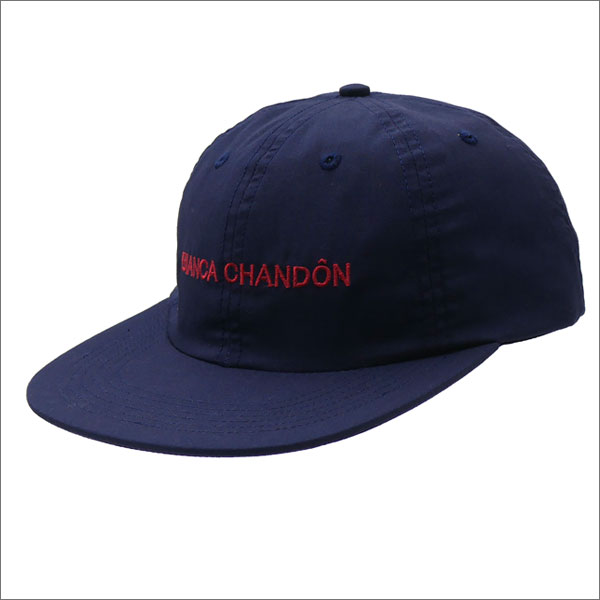 Bianca Chandon(ビアンカシャンドン) Logotype Hat (キャップ) NAVY 265-000864-017+【新品】