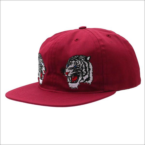 Bianca Chandon(ビアンカシャンドン) 2 Tigers Hat (キャップ) BURGUNDY 420-000051-013x【新品】