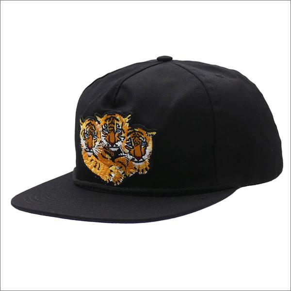 Bianca Chandon ビアンカシャンドン 3 Tigers Hat キャップ BLACK 420000052011 【新品】