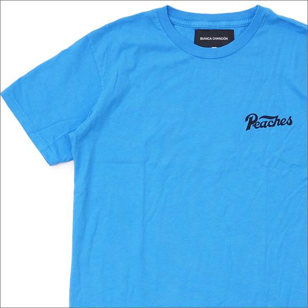 Bianca Chandon(ビアンカシャンドン) Peaches T-SHIRT (Tシャツ) CYAN 420-000049-044x【新品】