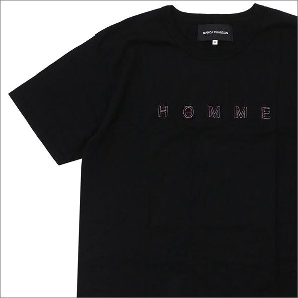 Bianca Chandon(ビアンカシャンドン) HOMME FEMME T-SHIRT (Tシャツ) BLACK 420-000046-041x【新品】