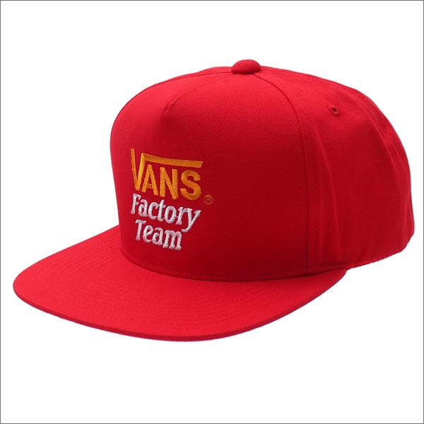 STANDARD CALIFORNIA (スタンダードカリフォルニア) x VANS (バンズ) Factory TEAM TWILL CAP (キャップ) RED 265-000880-013+【新品】