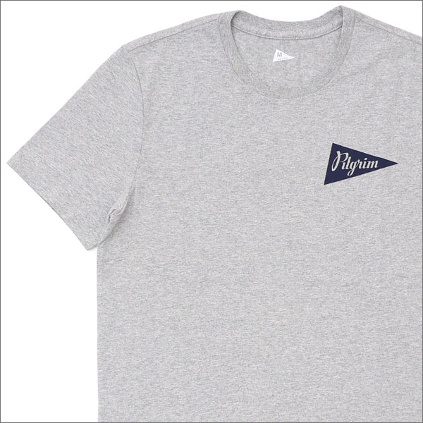 Pilgrim Surf+Supply (ピルグリム サーフ+サプライ) Team Tee (Tシャツ) GRAY 200-007056-042x【新品】