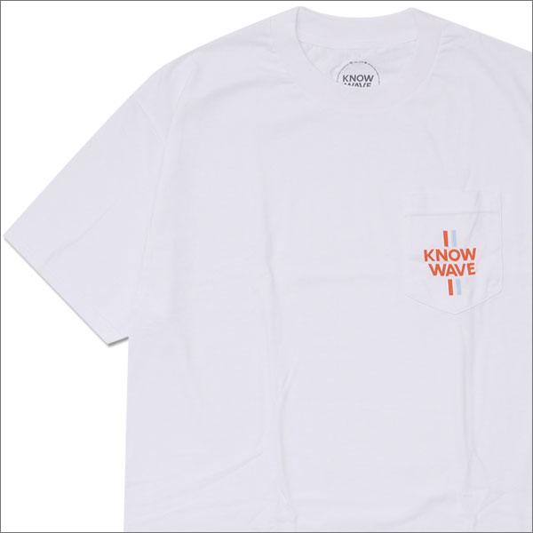 Know Wave(ノーウェーブ) Median Pocket Tee (Tシャツ) WHITE 200-007522-040+【新品】420-000190-040
