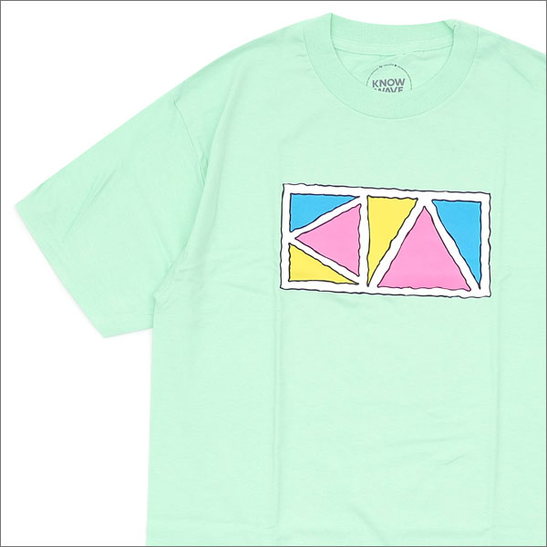 Know Wave(ノーウェーブ) Triangle T-Shirt (Tシャツ) MINT 420-000062-045+【新品】