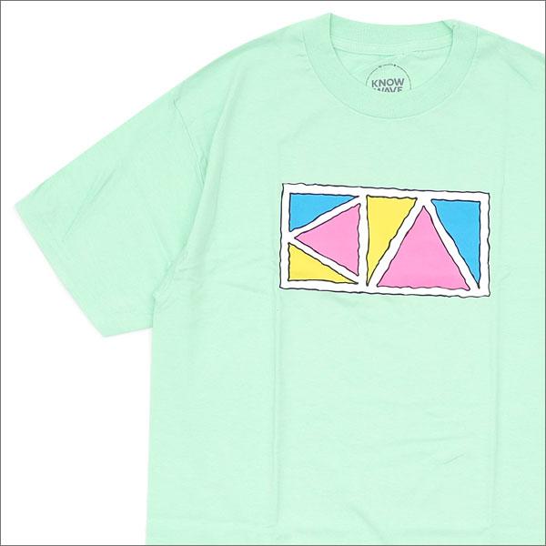 Know Wave(ノーウェーブ) Triangle T-Shirt (Tシャツ) MINT 420-000062-045+【新品】