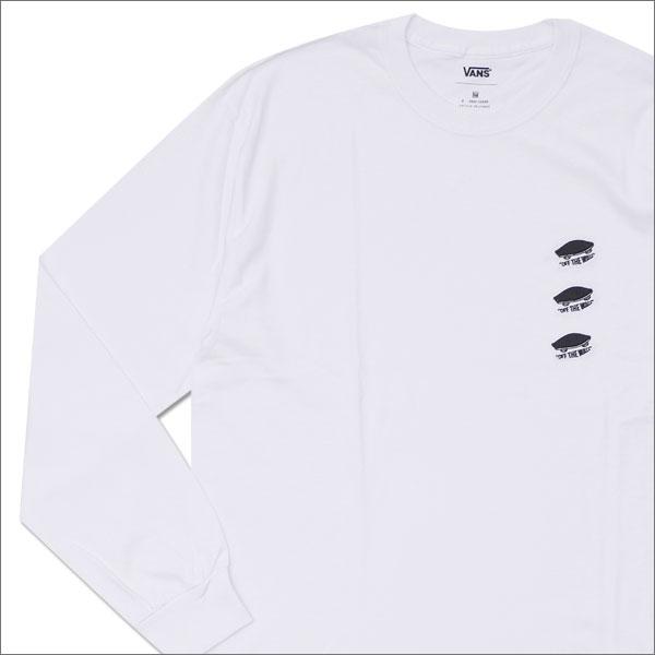 N.HOOLYWOOD(エヌハリウッド) x VANS(バンズ) L/S TEE (長袖Tシャツ) WHITE 202-000878-050x【新品】