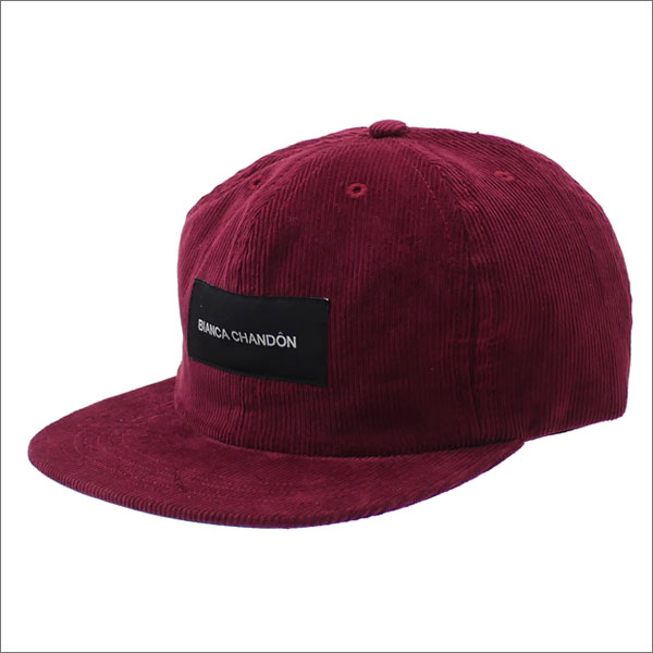 Bianca Chandon(ビアンカシャンドン) Logotype Label Polo Cap (キャップ) BRICK 265-000931-013 420-000081-013+【新品】