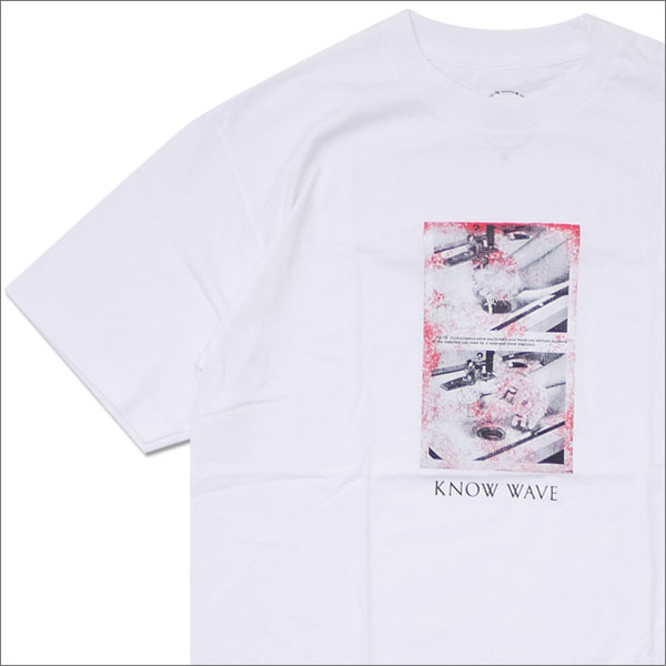 Know Wave(ノーウェーブ) Black Jack Tee (Tシャツ) WHITE 200-007637-140+【新品】