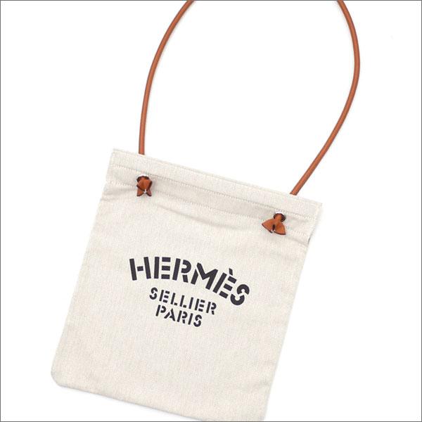 HERMES エルメス ALINE TOILE CHEVRON ショルダーバッグ FAUVE 277002462016 【新品】