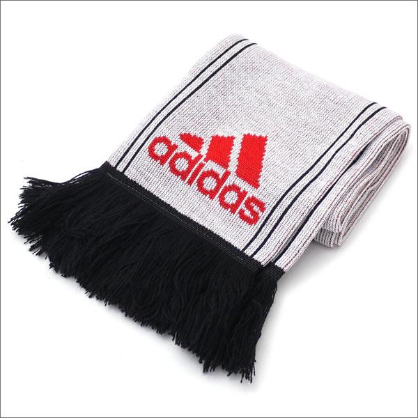 GOSHA RUBCHINSKIY(ゴーシャ・ラブチンスキー) x adidas(アディダス) SCARF (スカーフ)(マフラー) WHITExBLACK 420-000091-010【新品】