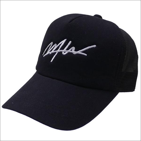 WTW(ダブルティー) LOGO MESH CAP (キャップ) BLACKxWHITE 251-001215-011x【新品】