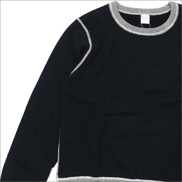 nanamica(ナナミカ) xChampion (チャンピオン) CREW NECK SWEAT (スウェット) BLACK 420-000104-041x【新品】