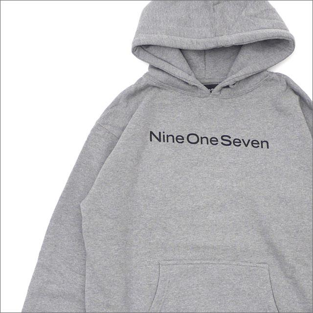【期間限定特別価格!!】 917(ナインワンセブン)(Nine One Seven) Nine One Seven Hooded Sweatshirt GRAY 211-000541-132 418-000296-032+【新品】