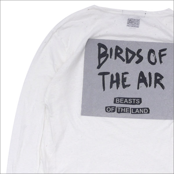 ksubi(スビ) x TRAVIS SCOTTBIRDS OF THE AIR LS TEE (長袖Tシャツ) WHITE 202-000935-040+【新品】