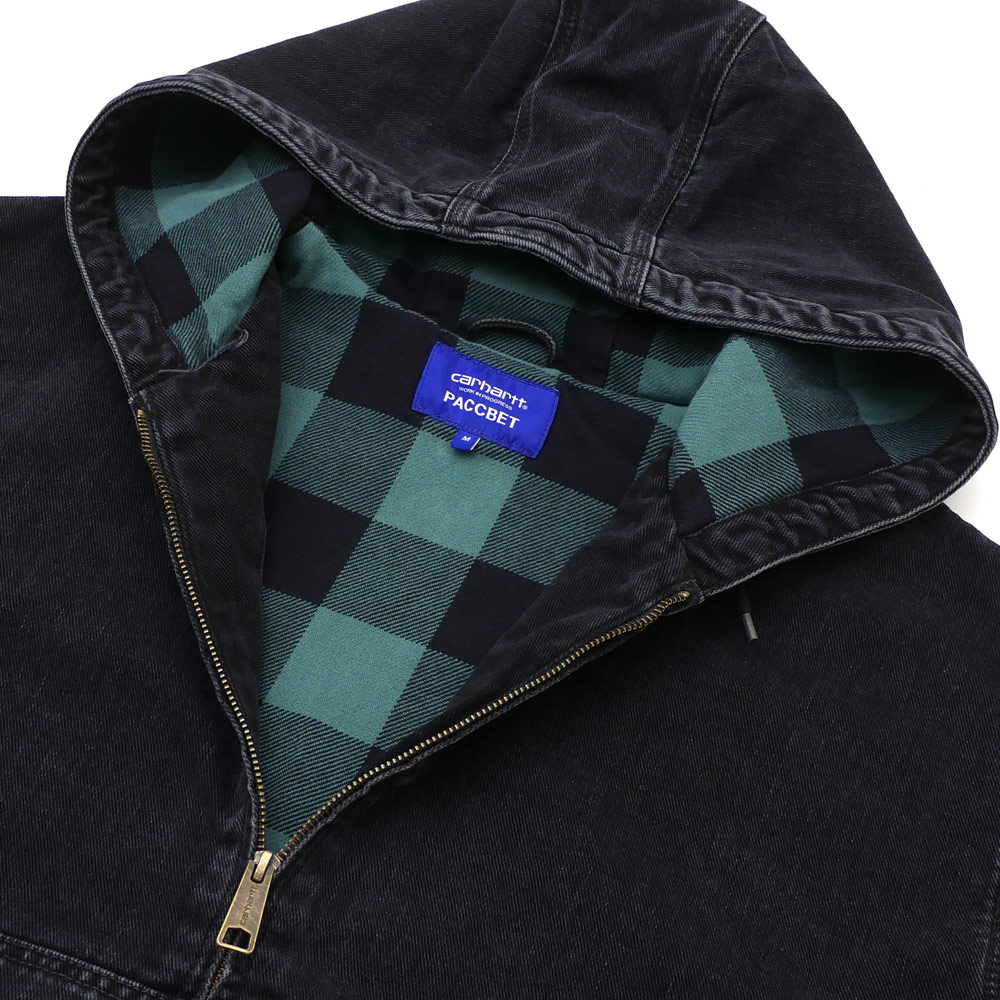 PACCBET ラスベート x Carhartt WIP カーハート Oversize Active Jacket ジャケット BLACKxGREEN 420000126041 【新品】