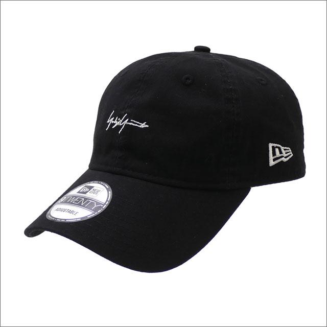 Yohji Yamamoto(ヨウジヤマモト) x NEW ERA(ニューエラ) 9TWENTY CAP (キャップ) BLACK 250-000438-011x【新品】
