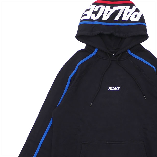 cd985e87bcfd Palace Skateboards (palace skateboarding) S-LINE HOOD (sweat shirt parka)  BLACK 420-000146-041+