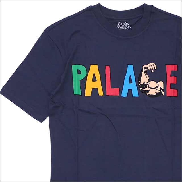 Palace Skateboards(パレス スケートボード) MUSCLE T-SHIRT (Tシャツ) NAVY 420-000150-047x【新品】