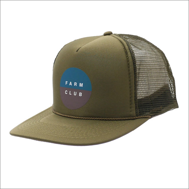 DESCENDANT(ディセンダント) FARM CLUB/MESH CAP (キャップ) OD 251-001252-015+【新品】