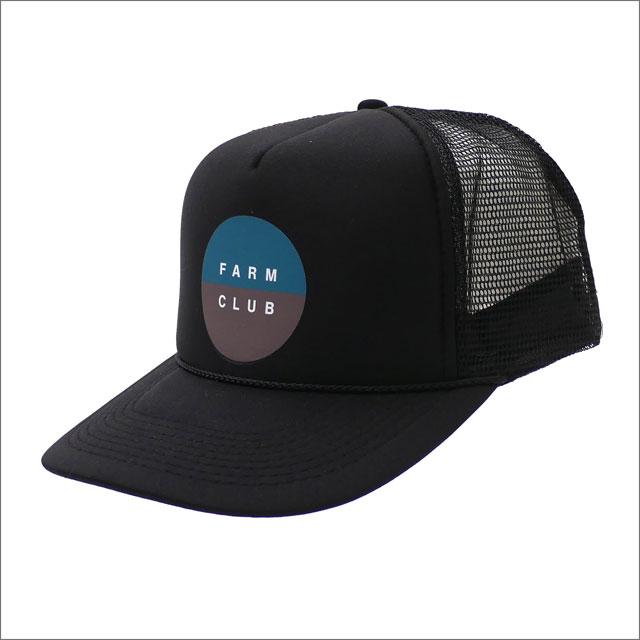 DESCENDANT(ディセンダント) FARM CLUB/MESH CAP (キャップ) BLACK 251-001252-011+【新品】