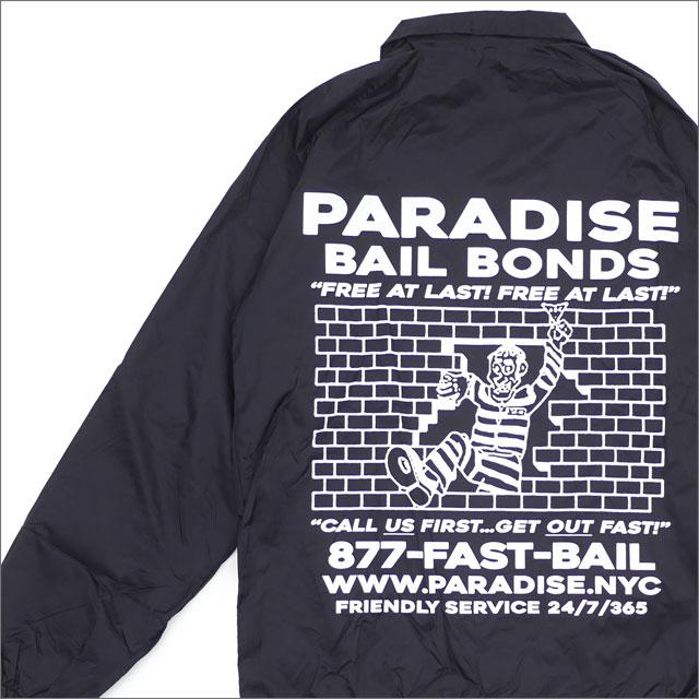 PARADIS3/PARADISE(パラダイス) Bail Bonds Coaches (コーチジャケット) BLACK 418-000187-031+【新品】