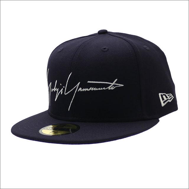 Yohji Yamamoto(ヨウジヤマモト) x NEW ERA(ニューエラ) 59FIFTY CAP (キャップ) NAVY 250-000442-047x【新品】
