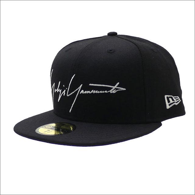 Yohji Yamamoto(ヨウジヤマモト) x NEW ERA(ニューエラ) 59FIFTY CAP (キャップ) BLACK 250-000442-051x【新品】