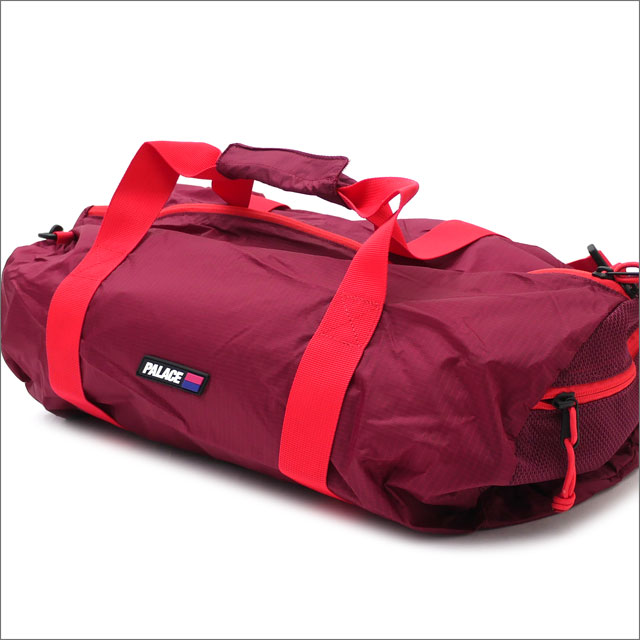 Palace Skateboards(パレス スケートボード) Tube Packer (ダッフルバッグ) BEET RED 418-000165-013+【新品】