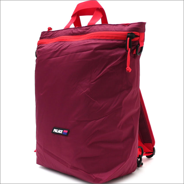 Palace Skateboards(パレス スケートボード) 4-Way Packer (バックパック) BEET RED 418-000164-013+【新品】