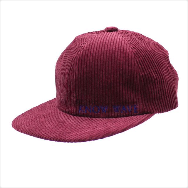 Know Wave(ノーウェーブ) Tea Club Scheme Hat (キャップ) BURGUNDY 418-000190-019+【新品】