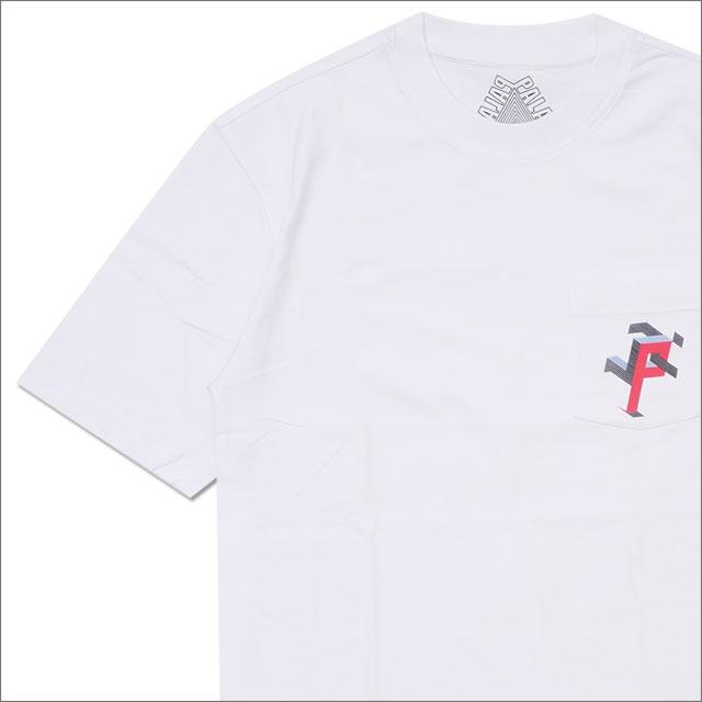 Palace Skateboards(パレス スケートボード) P Man Pocket T-Shirt (Tシャツ) WHITE 418-000152-030+【新品】