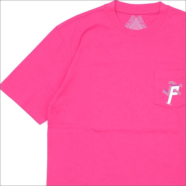 Palace Skateboards(パレス スケートボード) P Man Pocket T-Shirt (Tシャツ) HOT PINK 418-000152-053+【新品】