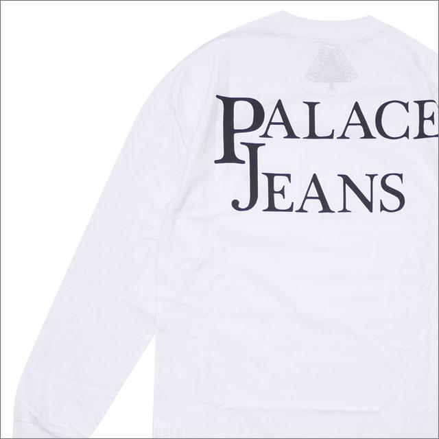 Palace Skateboards(パレス スケートボード) Pj'S Pocket Longsleeve (長袖Tシャツ) WHITE 418-000162-030+【新品】