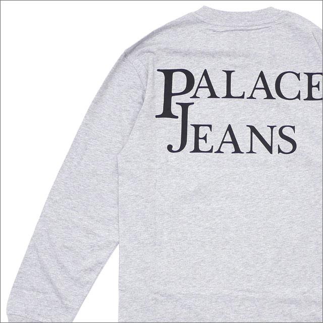 Palace Skateboards(パレス スケートボード) Pj'S Pocket Longsleeve (長袖Tシャツ) GREY MARL 418-000162-032+【新品】