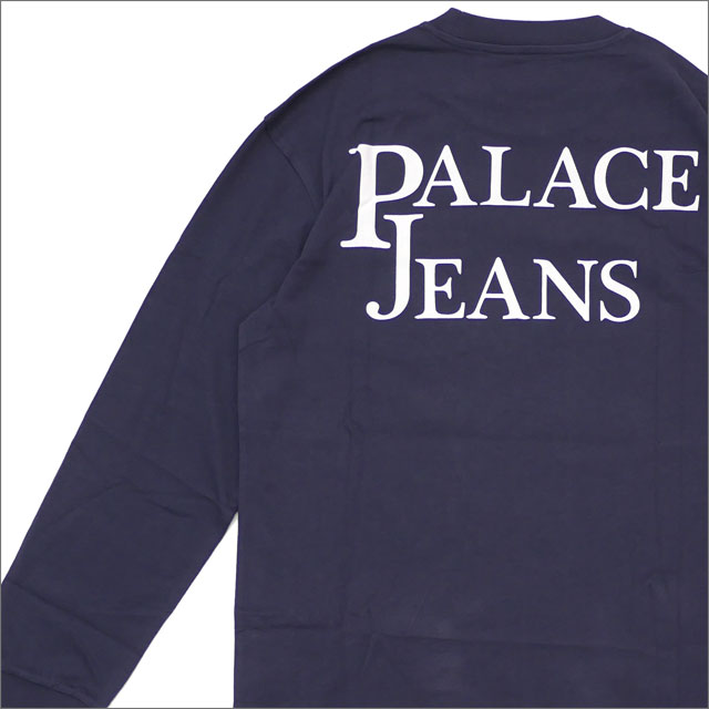 Palace Skateboards(パレス スケートボード) Pj'S Pocket Longsleeve (長袖Tシャツ) NAVY 418-000162-037+【新品】