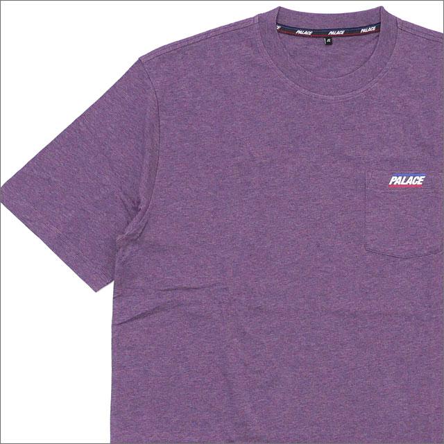 Palace Skateboards(パレス スケートボード) Basically A Pocket T-Shirt (Tシャツ) PURPLE MARL 418-000173-069+【新品】