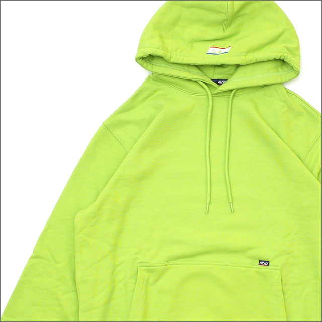 Palace Skateboards(パレス スケートボード) Basically A Hood (スウェットパーカー) LIME GREEN 418-000167-045+【新品】